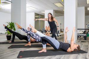 mat pilates class arlington va